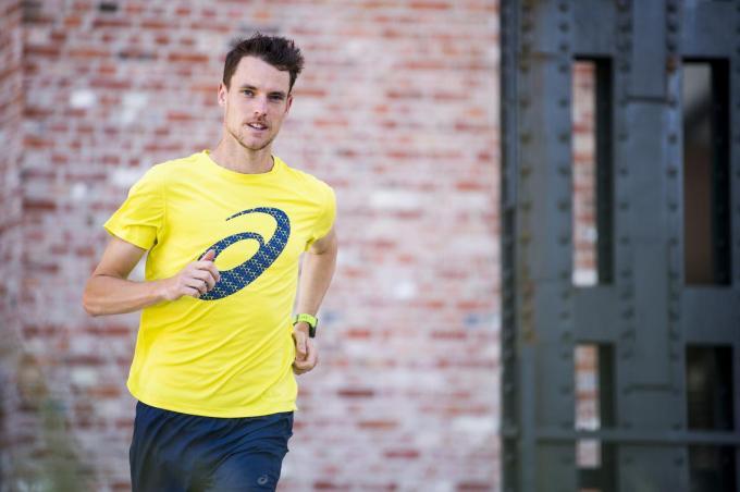 Koen Naert verbeterde drie weken geleden zijn persoonlijk record op de halve marathon.© BELGA