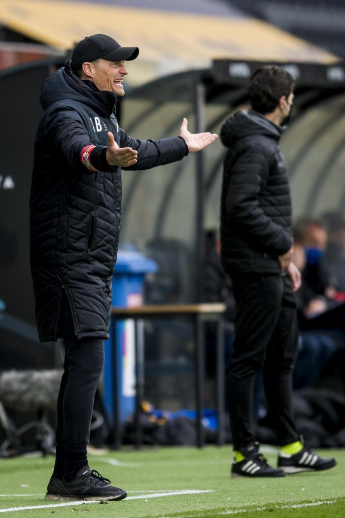 Het wordt puzzelen voor coach Alexander Blessin.©JASPER JACOBS Belga
