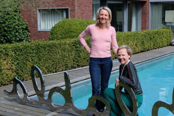 Sylvie en Katrin Roggeman.©BC