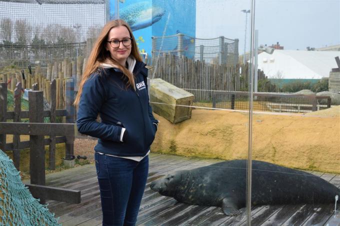 Michelle Hoeneveld was in 2018 al enkele maanden actief in Blankenberge en voelde zich snel thuis.© WK