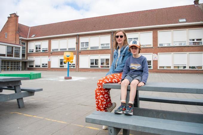 Basisschool De Talententuin in Lendelede krijgt er een verdieping bij.© Frank Meurisse