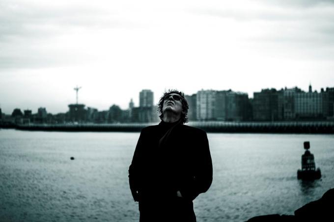 Pierre Goudesone (Goudi) neemt nieuwe clip op in Oostende.© EFO