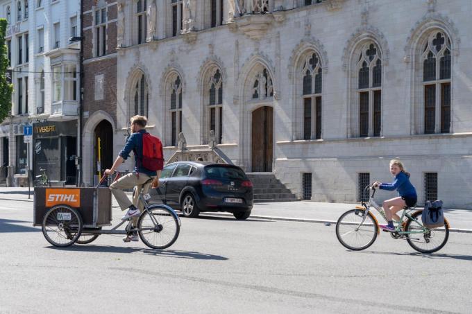 De speed pedelecs (niet hier op de foto) zijn elektrische fietsen die tot 45 kilometer per uur halen.©Kurt De Schuytener a-KDS