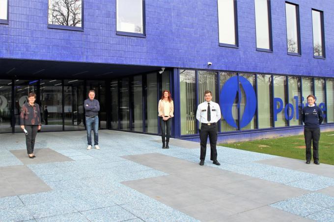 Thomas Joos startte op 1 april als nieuwe commissaris in PZ Vlas© JVGK