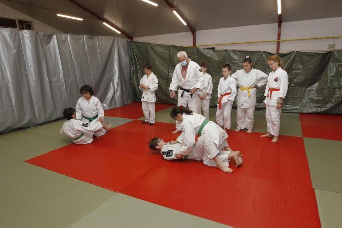 Judostage bij Jokohazam.© Foto Coghe