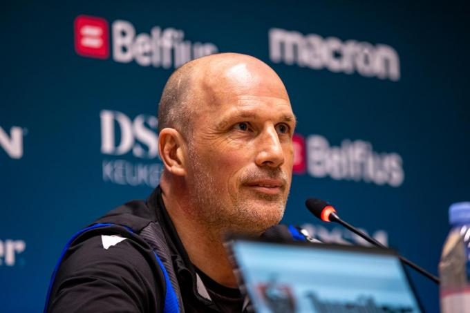 "Club Brugges coach, Philippe Clement: ""Anderlecht hoort thuis in Play off 1""© BELGA - Kurt Desplenter"