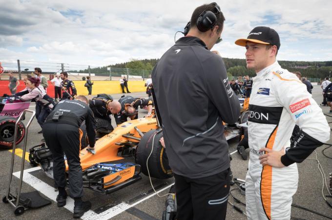 Voor de 29-jarige Vandoorne is het zijn tweede zege in de Formule E.© Belga