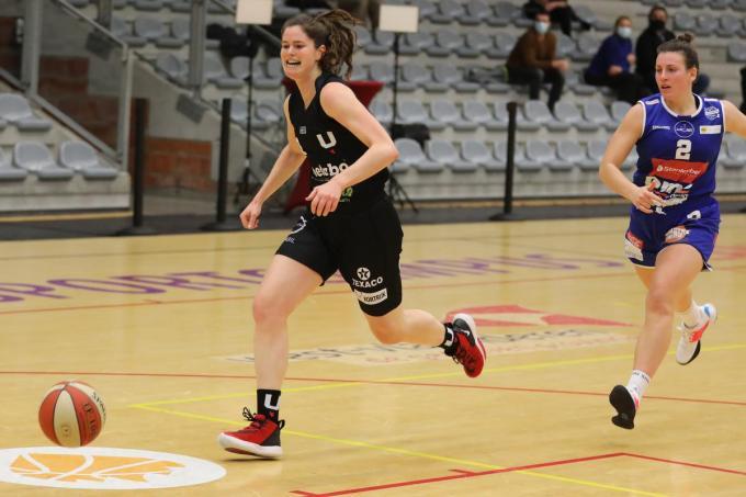 Evi Heyse was met 29 punten de uitblinker bij Kortrijk Spurs.© (Foto ELD)