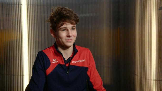 """Olivier doet al sinds de tweede kleuterklas aan judo. """"Nu trainen voor de selecties van het EK en WK"""", klinkt het. (gf)"""