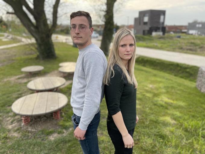 Maxime en Justine Loyson haalden hun gelijk voor het hof van beroep: hun pleegouders werden veroordeeld voor jarenlange mishandeling.© Thijs Pattyn