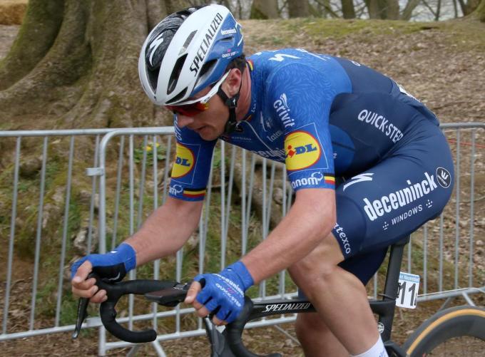 Deceuninck-Quick Step rekent ook op Yves Lampaert voor de 61ste Brabantse Pijl nu woensdag 14 april.© VDB
