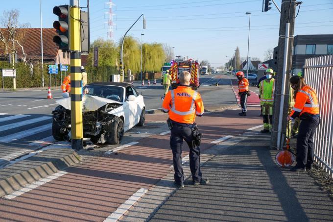 De oorzaak van het ongeval is nog niet bekend.© CLL