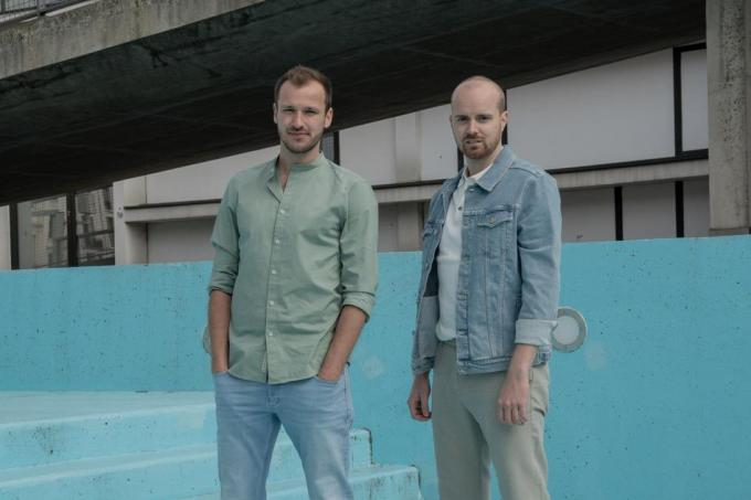 Michiel De Meyer (links) en Martijn Claes.© Sam Gielen - Maddworld