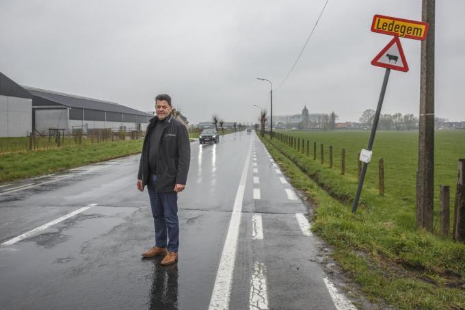 Provincieraadslid Piet Vandermersch pleit er al lang voor om het dossier op te splitsen.© Jan Stragier
