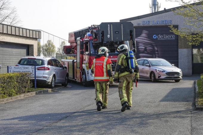De brandweer voerde een controle uit maar stelde geen brand vast.© Christophe Lefebvre