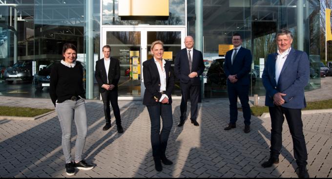 Sophie Devos, Thomas Devos, Els Capoen, Eric Berkhof, Koen Claesen en Johan Devos.© gf