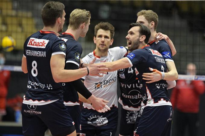 Knack Volley is kampioen.© BELGA