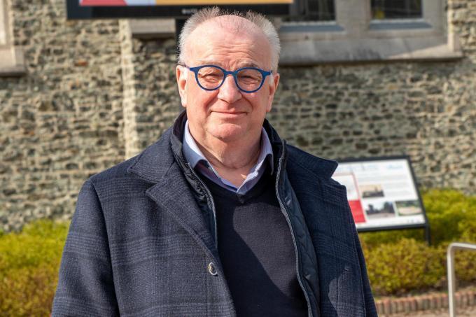 Ivan Van Cauwenberghe maakt vanaf nu deel uit van de raad van bestuur van het Davidsfonds.©Wouter Meeus foto WME