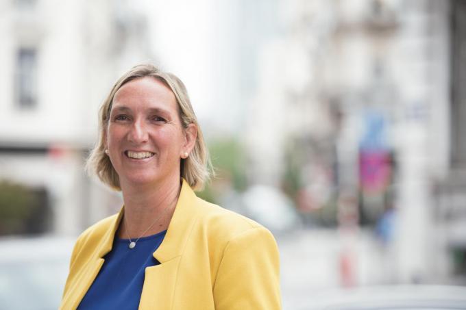 """Volksvertegenwoordige Cathy Coudyser: """"In het meerjarenplan van Knokke-Heist staan tal van mogelijkheden om die Vlaamse stimulus aan te wenden.""""© Dirk Meulders"""