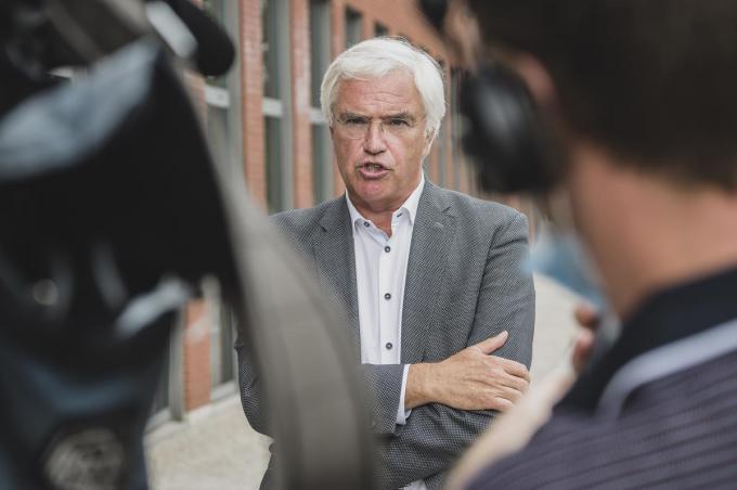 West-Vlaams provinciegouverneur Carl Decaluwé.© Olaf Verhaeghe