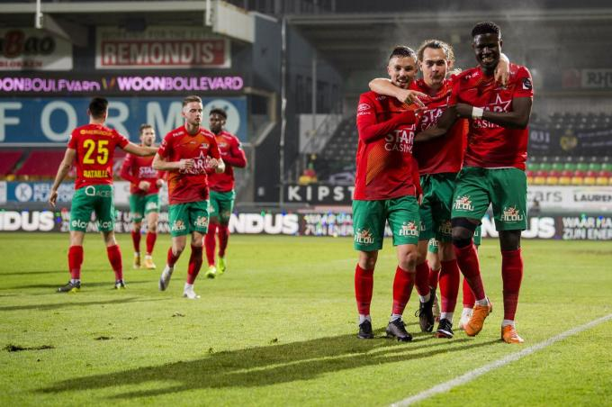 Mag KVO zondag ook juichen na afloop van de match tegen Cercle?© BELGA