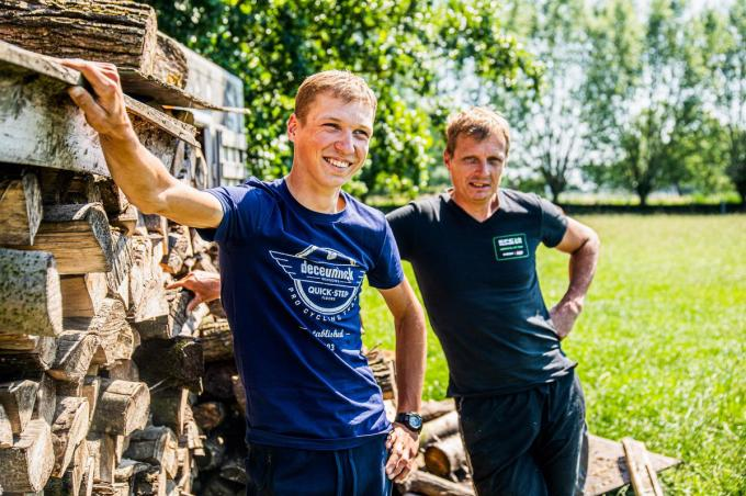 Wim en Mauri Vansevenant. (foto Wout Beel)