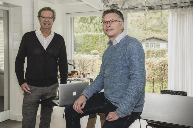 Johan Bossuyt en Philip Vertriest van Icha.© OV