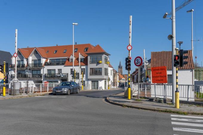 Vanaf volgende week worden er onderhoudswerkzaamheden uitgevoerd aan de Leffingebrug.© LC