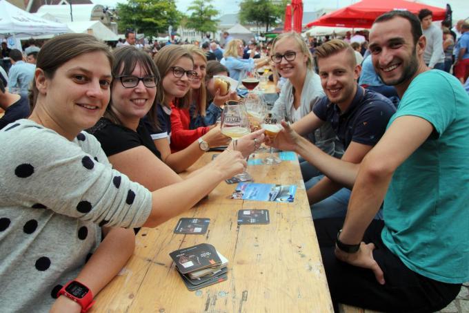 Klinken op het streekbierenfestival zal ook niet voor dit jaar zijn.© GJZ