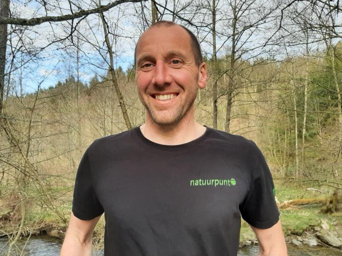 Koen Houthoofd is voorzitter van Natuurpunt Tussen Leie en Schelde. (Foto MV)
