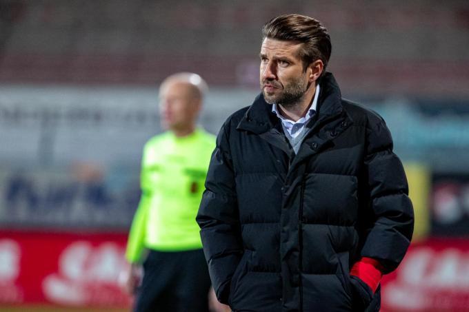 Coach Luka Elsner.©KURT DESPLENTER BELGA