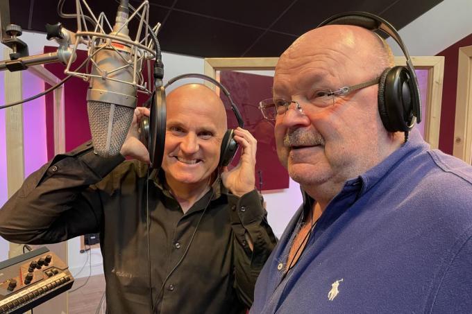 Dennie Damaro en Michel Van den Brande