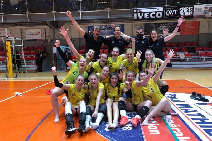 De Hermessers zijn heel gelukkig met de knappe zege in Charleroi. (foto PR)