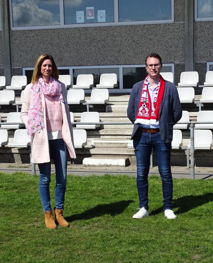 Voorzitter Johan met zijn vrouw Sarah.© (Foto FRO)