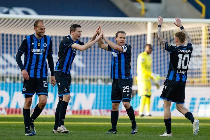 Club Brugge start als leider de Champions' play-offs.© BELGA/BRUNO FAHY