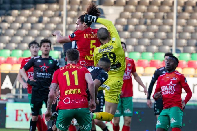 KV Oostende eindigde vijfde in de regulieer competitie.© BELGA/KURT DESPLENTER