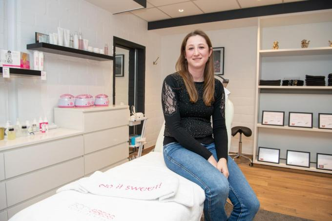 Romina Masscho hoopt snel weer klanten te kunnen ontvangen. (foto Frank)©Frank Meurisse Frank Meurisse