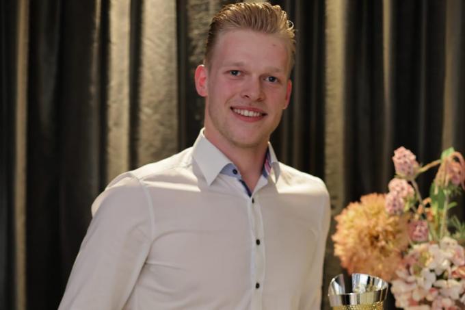 Mathijs Desmet is Rookie van het Jaar.© RBD