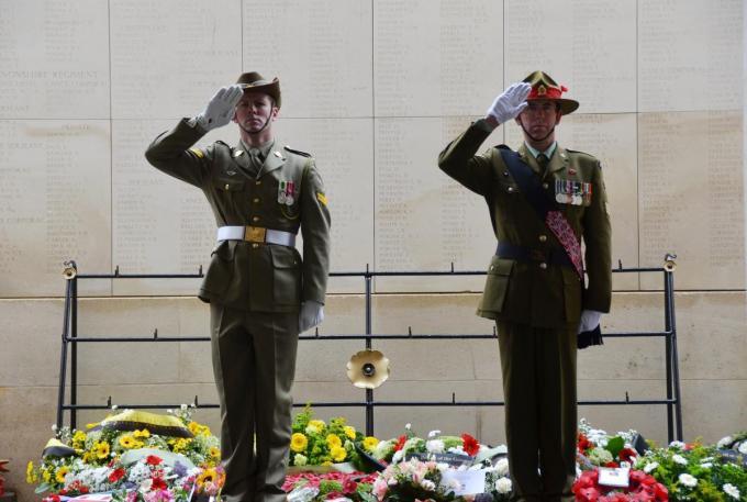 Op 25 april herdenken Australië en Nieuw-Zeeland de gesneuvelden van de Eerste Wereldoorlog.© Last Post Association