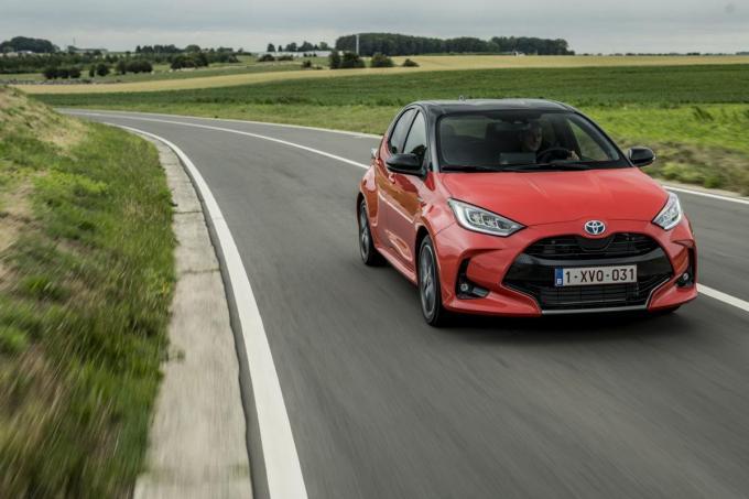 De Toyota Yaris IV straalt veel dynamiek uit.© GF