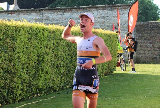 Voor een winnaar in de Triatlon van Brugge moeten we al terug naar 2019 met winst voor Bruggeling Louis Naeyaert.© a-ACR