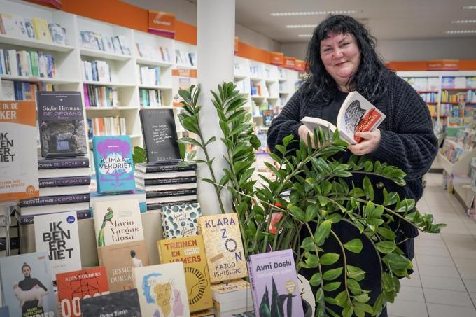20 jaar lang liet Emanuelle Rollé Menen lezen. (foto CLL)