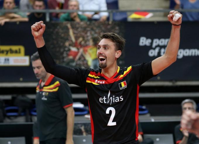 Ook bij de nationale ploeg ontpopte Tuerlinckx zich tot een sterkhouder.©VDB / Bart Vandenbroucke foto a-Bart