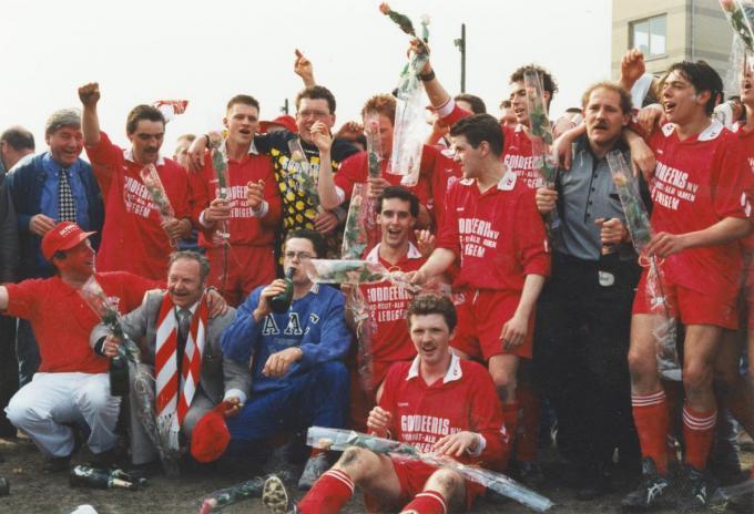 Onder leiding van de piepjonge trainer Patrick Verheule speelde Ol. Ledegem kampioen in derde provinciale in het seizoen 1996-1997.