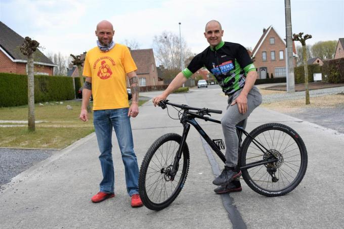 Wouter Vanhee (l.) en Mario Vandeputte kijken op geen inspanning.© foto TVW