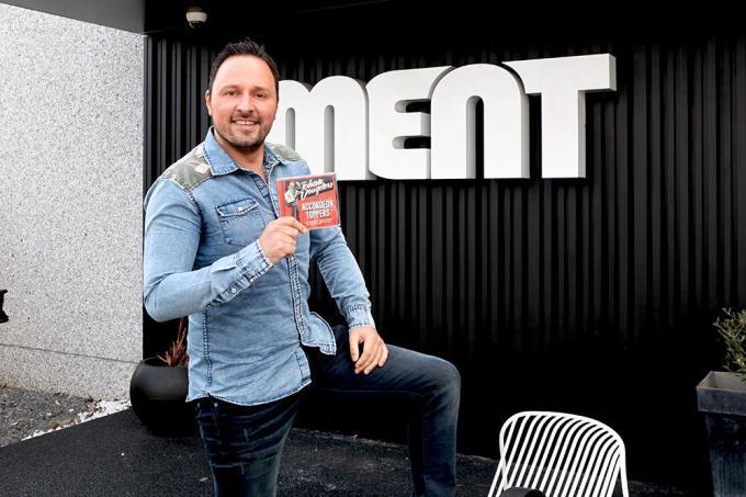 Johan kwam al langs bij MENT TV om zijn nieuw album voor te stellen.© PADI/Daniël