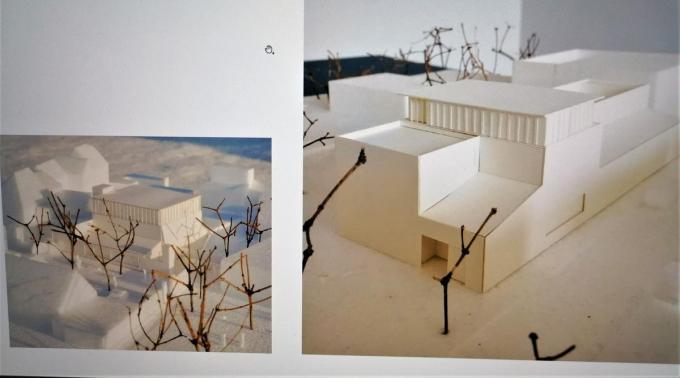 Een beeld van hoe het nieuwe museum er zal uitzien.© gf