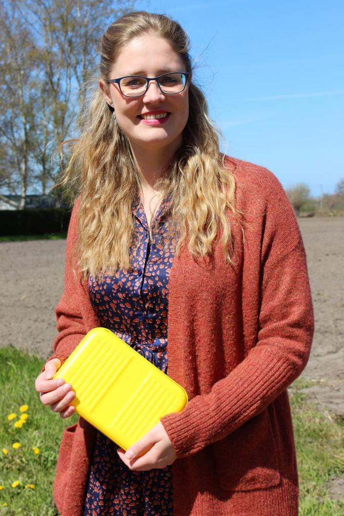 Als apotheker is Sofie Sanders al bekend met het gebruik van de Gele Doos.© LIN