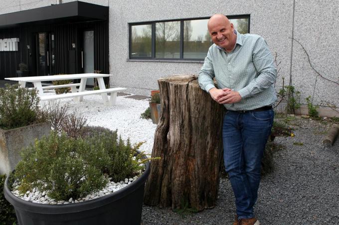 Dennie woont in Wuustwezel, maar hij heeft al meerdere jaren een vakantiehuis in Westende.© PADI/Daniël