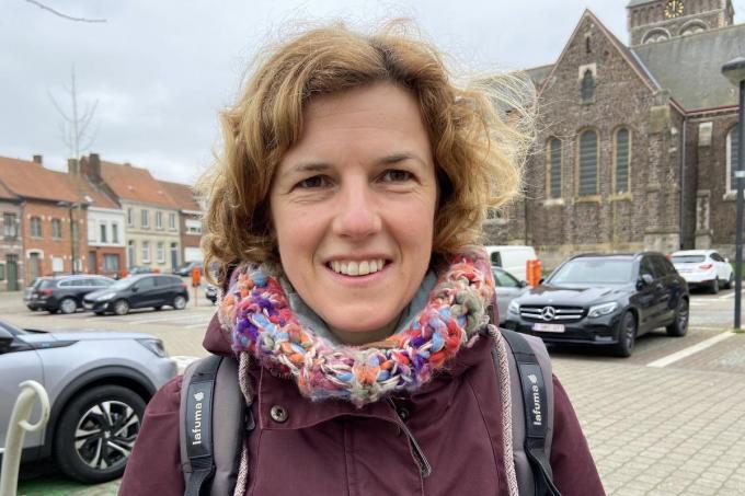 Liesbeth Verbanck groeide op in Wervik, maar was in Geluwe bij de Chiro. Haar vrienden van weleer zijn nog altijd haar vrienden.© KVdm